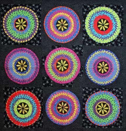 picture of Cathrine Wheels quilt