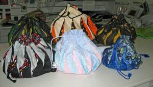 Bags made in class