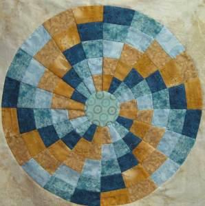 Patchwork circular design