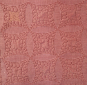 Reverse of quilt